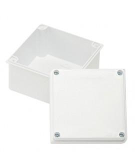 Caja de Mecanismos en PVC 10X10 BLANCO